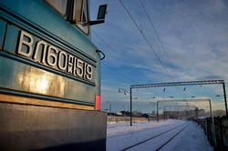 В Одесской области во время снежного циклона самым надежным транспортом стала железная дорога (ФОТО, ВИДЕО)