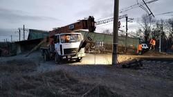 В Днепропетровской области сошел с рельсов грузовой поезд (ФОТО)