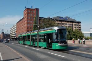 Столица Финляндии продает подержанные низкопольные трамваи