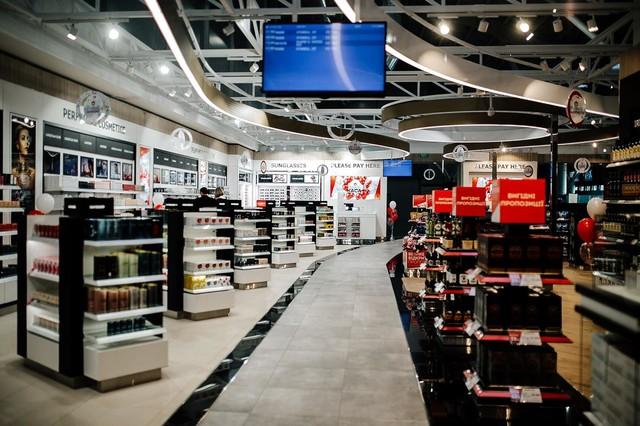В Одесском аэропорту открылся duty-free
