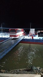 Международные автобусные рейсы теперь идут через паромную переправу на Дунае (ФОТО)