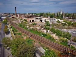 В Одессе показали руины локомотивного депо на станции Товарная (ФОТО, ВИДЕО)
