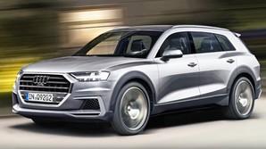 Гамма Audi будет дополнена огромным кроссовером