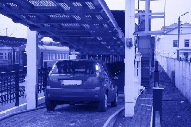 Из Одессы к пассажирским поездам во Львов, Киев и Харьков добавляют вагоны для автомобилей