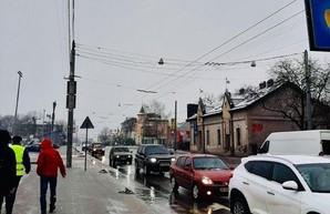 Во Львове реконструируют линию троллейбуса за средства ЕБРР