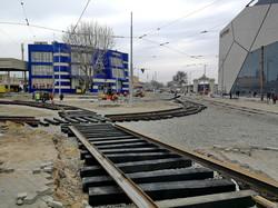 В Одессе укладывают новые трамвайные пути на Водопроводной угол Новощепного Ряда (ФОТО, ВИДЕО)