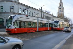 В латвийской Лиепае запустили на маршрут новые трамваи хорватского производства (ФОТО)