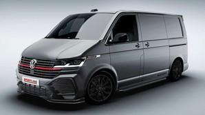Volkswagen презентовал новую версию Transporter в стиле GTI