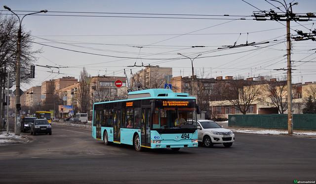 В Чернигове закупили самые дешевые на данный момент троллейбусы украинского производства