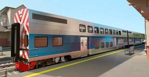 Для пригородных перевозок в Чикаго закупают 200 двухэтажных вагонов