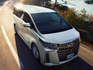 В Японии планируют выпуск новой Toyota Alphard в 2023 году
