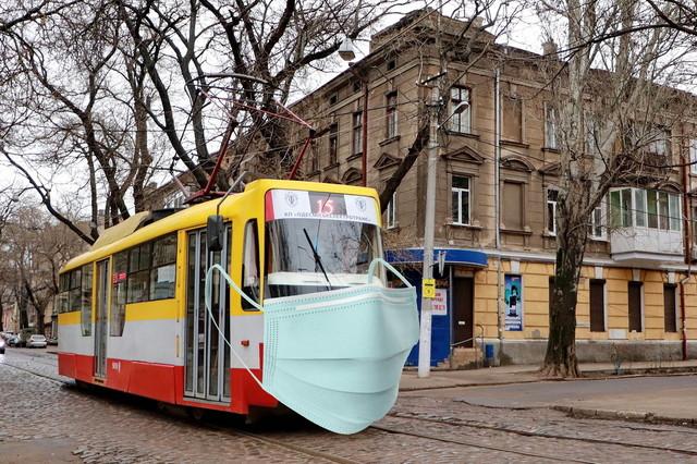 В Одессе и Киеве не останавливают работу пассажирского транспорта при карантине