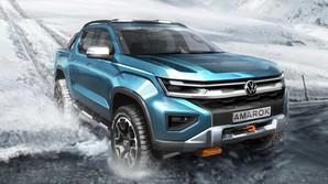 Представлены новые наброски Volkswagen Amarok следующего поколения