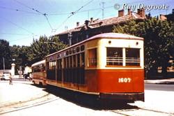 Старую Одессу и трамваи показали на фото 1959 года
