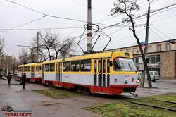 В Одессе запустили на маршруты дополнительные трамваи (ФОТО, ВИДЕО)