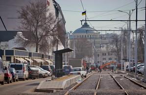 В Одессе обещают запустить трамваи на Новощепном Ряду до 10 апреля (ФОТО, ВИДЕО)