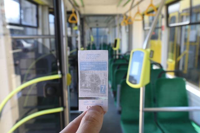 Во Львове начали устанавливать валидаторы для системы электроного билета в городском транспорте