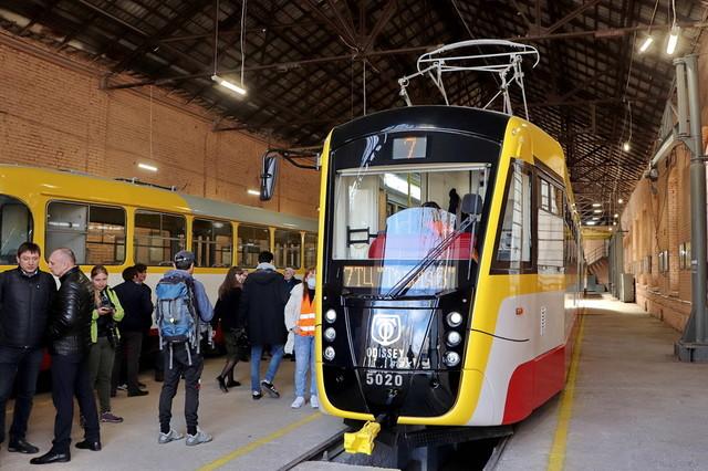 Новый трамвай в Одессе будет обслуживать маршруты на поселок Котовского (ВИДЕО)