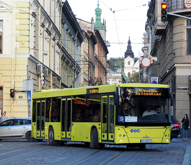 Львов не будет покупать автобусы МАЗ