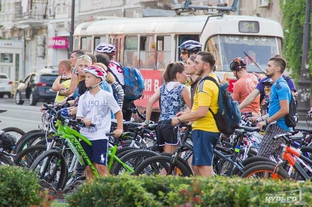 В Одессе обещают уже в апреле организовать велодорожку в центр города из Киевского района