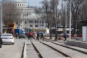 В Одессе идет текущий ремонт дорог