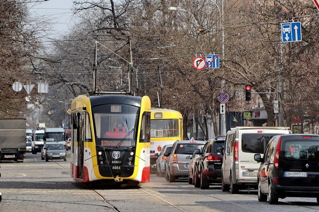 В Одессе меняет маршрут трамвай №12 из-за ремонта улицы Преображенской (ВИДЕО)