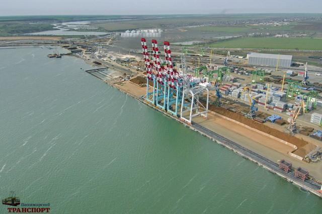 В порту Южный планируют построить очередной зерновой терминал