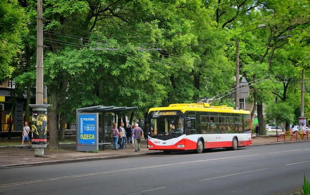 В Одессе будут реконструировать троллейбусную остановку на проспекте Шевченко