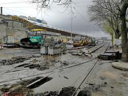 В Одессе уже начали ремонт последнего квартала улицы Преображенской (ВИДЕО)