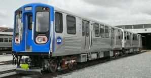 Для метро Чикаго испытывают новые вагоны