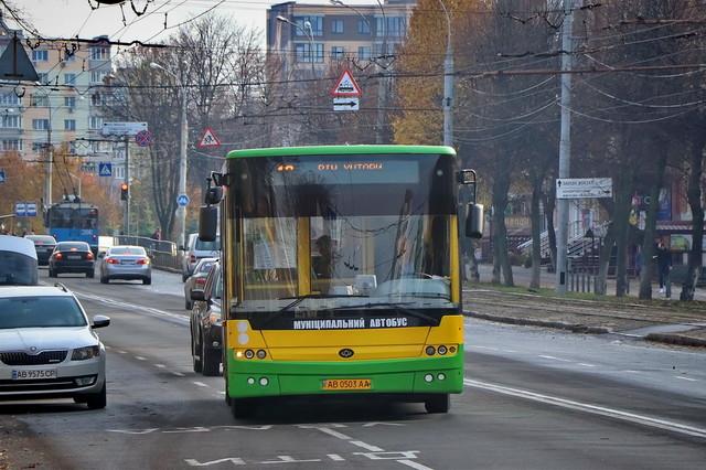 В Виннице повышают стоимость проезда в маршрутках