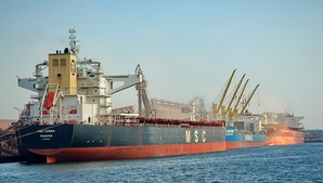 В порту Южный рассказали о перевалке грузов с января по апрель 2021 года