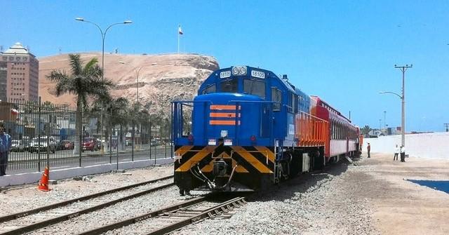 Восстановили железную дорогу между Боливией и Чили