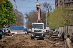 В Одессе продолжают ремонтировать Преображенскую: что изменилось (ФОТО)