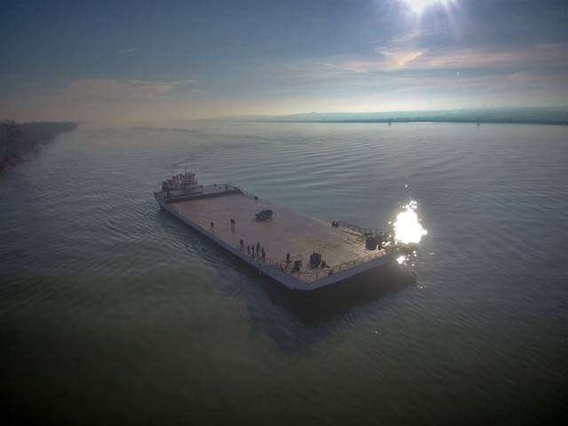 На юге Одесской области паром через Дунай теперь ходит по графику