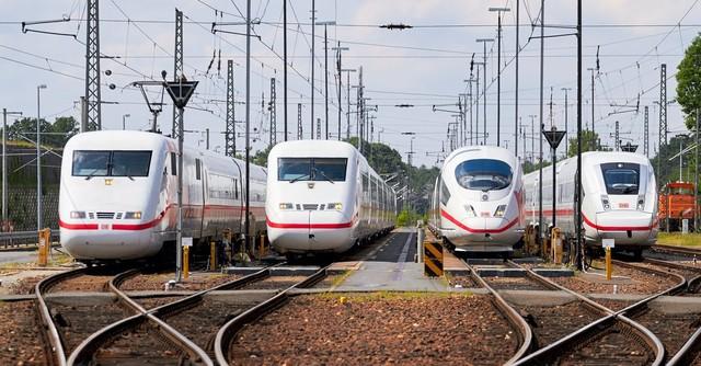 В Германии уже 30 лет ходят скоростные поезда ICE
