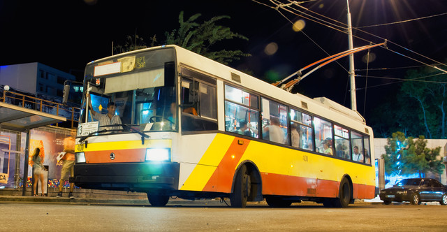 В Одессе запустили летний маршрут троллейбуса в Аркадию