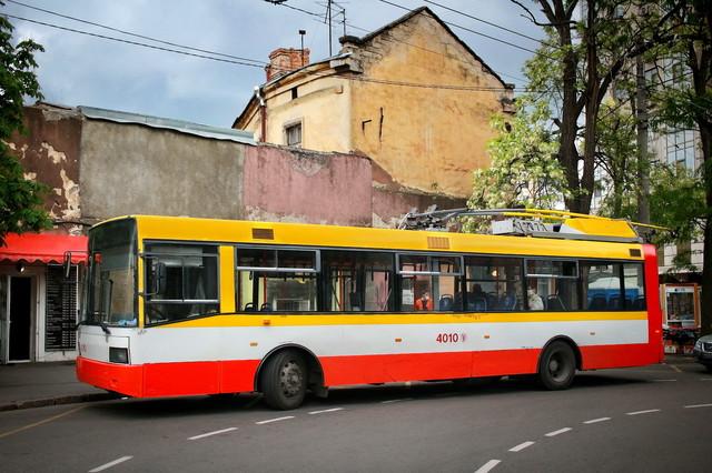 В Одессе предложили для всех городов Украины автономные троллейбусы