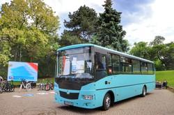 В Одессе один из частных перевозчиков закупил автобусы средней вместимости (ФОТО)