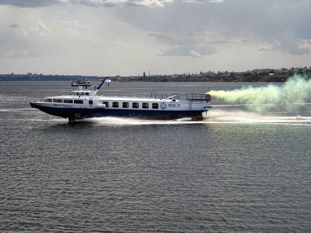 Из Киева в Канев обещают запустить скоростные пассажирские катера на подводных крыльях