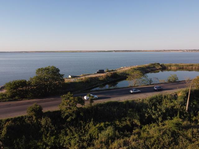 В Одессе дамба Хаджибейского лимана угрожает порту и городу  (ВИДЕО)