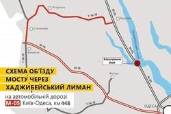В ночь на 25 и на 26 июня перекроют движение на трассе Одесса - Киев