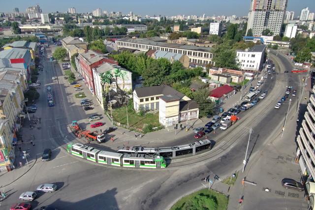 Киевский горсовет одобрил строительство трамвая в центр города