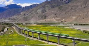 Очередные железнодорожные проекты Китая: электрифицированная линия в Тибете и новая магистраль на севере