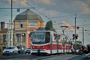 В Праге за счет приоритета на перекрестках ускорили движение трамваев
