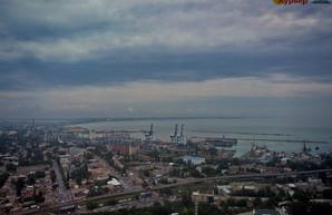 В украинских портах упал грузопоток