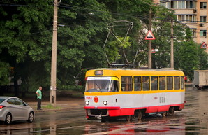 В Одессе произошло сразу две трамвайных аварии за день