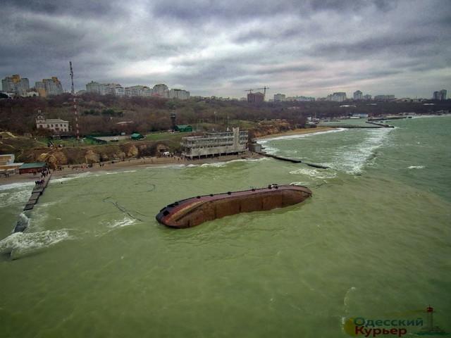 """В Одессе идет судебный процесс по возмещению ущерба окружающей среде от аварии танкера """"Делфи"""""""