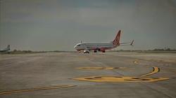 В аэропорту Одессы первый самолет приземлился на новую взлетную полосу