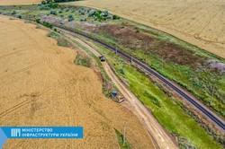 В Одесской области строят участок второго железнодорожного пути к порту Южный (ФОТО)